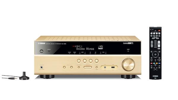 新款上市:雅马哈7.2声道无线次世代家庭影院功放RX-V585,如临现场体验